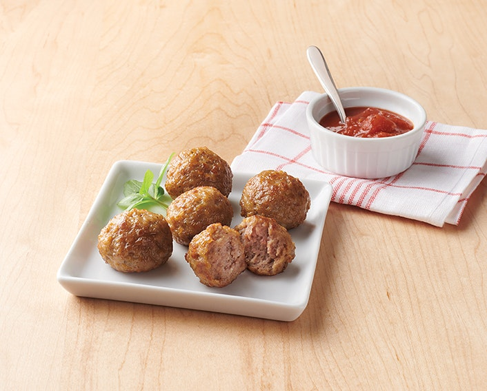 Fully Cooked Italian-Style Meatballs