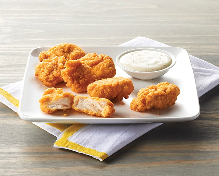 Fully Cooked Breaded Boneless Chicken Bites